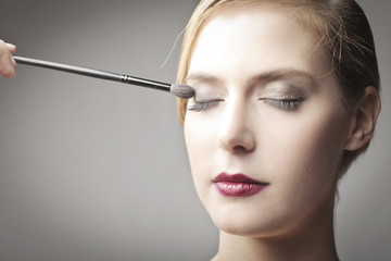 Makeup for a soiree