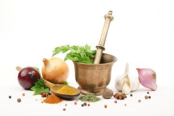 cuisine - épices et aromates