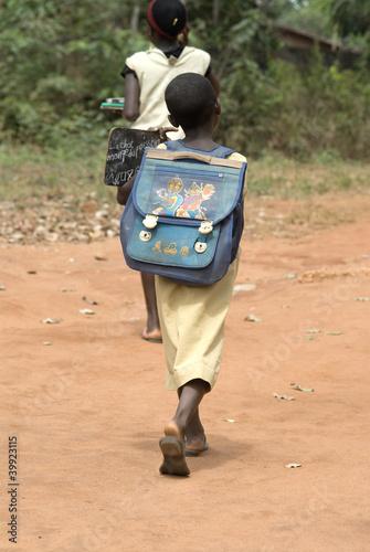 Africa Benin bambini scuola