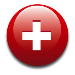 bottone - icona della bandiera svizzera