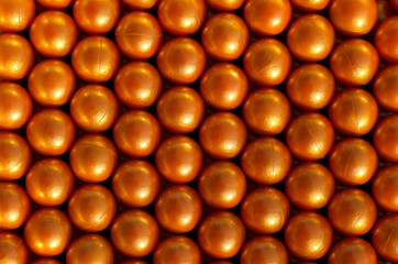 Orange paintballs background