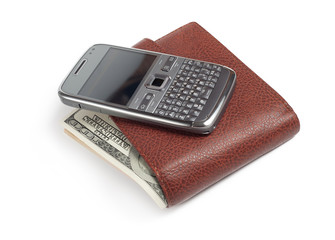 Phone and wallet
