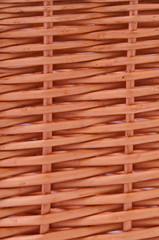 Woven texture background from natural rattan handicrafts.