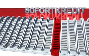 3D Rolltreppen - SOFORTKREDIT