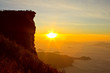 Phu Chi Fah, famous sunrise viewing place in north of Thailand