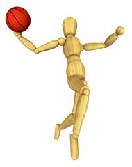 mannequin dunking