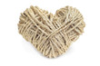 heart-shaped coil of rope