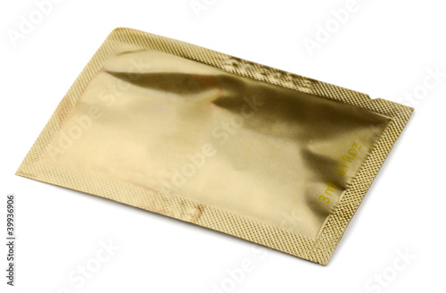 Golden small cosmetics  sachet
