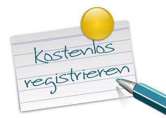 Karteikarte kostenlos registrieren
