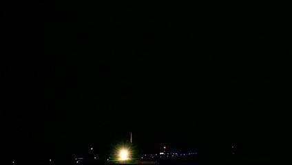 Aufrollen eines Flugzeugs