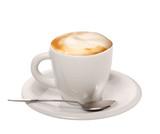 Fototapety Cappuccino su sfondo bianco