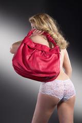 Frauensache, Handtasche in Pink