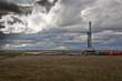 Leinwandbild Motiv ND  midwest Drilling rig