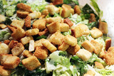 Croutons on a Salad