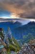 Brume au-dessus du Cirque de Mafate - La Réunion