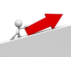 Promote arrow upward