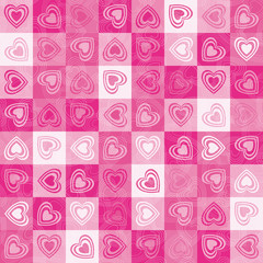 Heart cute background.
