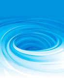 Vector of swirling water background.