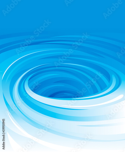Vector of swirling water background. © yewkeo