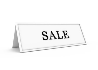a sign saying for sale