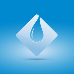 Logo safeguarding water # Vector