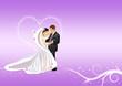 Mann und Frau - Hochzeitspaar