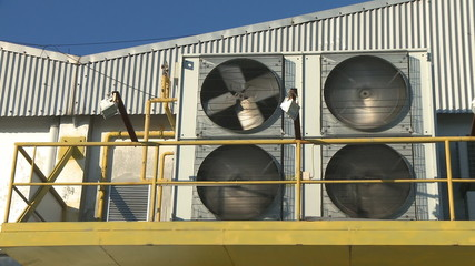 Industrial air conditioning conditioner