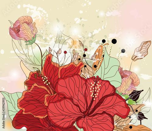 sklad-grunge-z-kwiatami-hibiskusa