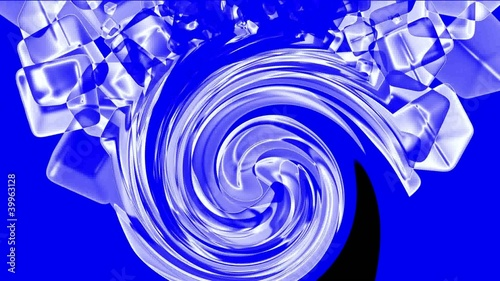 swirl ice block ripple,crystal jewelry necklace,flying glass