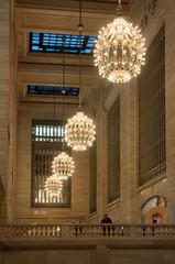 Grand central station chandelier