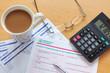 UK tax return still life
