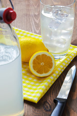 Traditional still lemonade