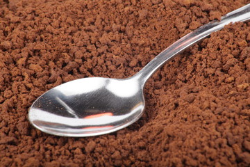 many of milled coffee and teaspoon