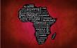 Afrique (Rouge)