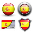 Spain flag icons