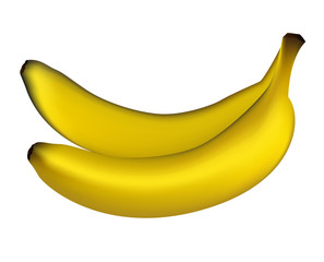Realistic bananas