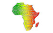 Afrique (Vert Jaune Rouge)