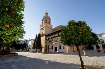 Santa María la Mayor - Ronda - Andalusien - Spanien