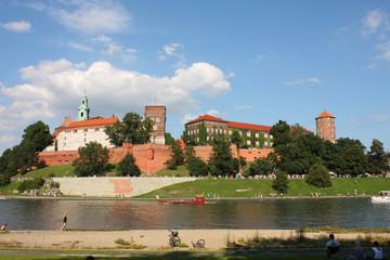 Wawel castle in Cracow