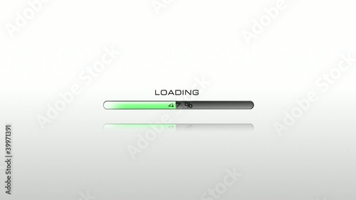 Green loading bar