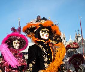 Masks at Venice carnival 2012