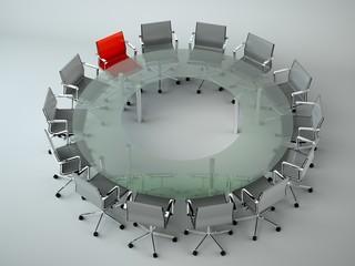 Bürodesign - Konferenztisch