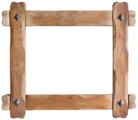 Wooden Frame cutout