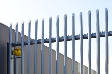 Zaun - Sicherheit - Wachschutz