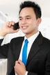 business man calling