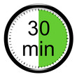 Leinwanddruck Bild - Minuterie - 30 minutes