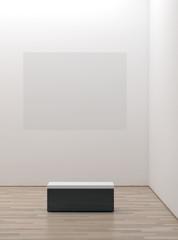Interno galleria d'arte
