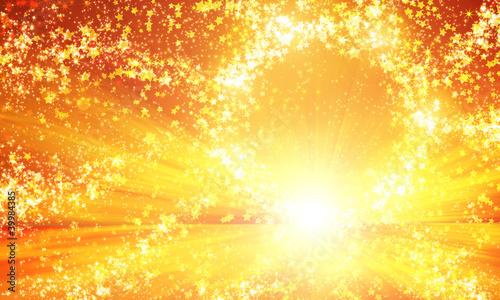shining circle of stars