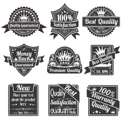 Quality and Guarantee Labels