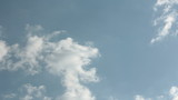 The March cumulus clouds timelapse